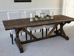 Diy Farmhouse Table Plans East Coast Creative Images About - Farm table design plans