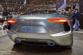 maserati spyder 2018 maserati confirms electric alfieri for 2020 after launch of ice