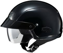 hjc motocross helmet hjc 2014 is cruiser black half face helmet available at
