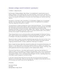ideas of how do i write a letter of recommendation for graduate