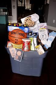 sports gift baskets best 25 basket sport ideas on sports room decor boy