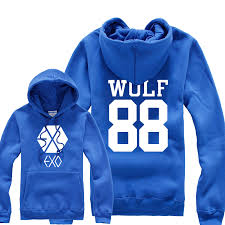 wallpaper exo wolf 88 k pop exo wolf 88 logo fashion hoodie jacket by cosplaysky123 on