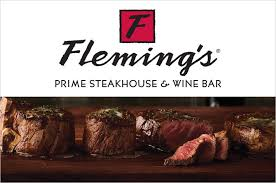 fleming s gift card win a 100 gift card from fleming s prime steakhouse and wine bar