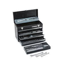 husky mechanics tool set with metal storage box 250 piece