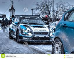 subaru sti rally car 2015 subaru wrx sti rally car editorial stock photo image 51215573
