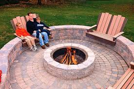 Firepit Design Patio Pit Designs Ideas Fireplaces Firepits