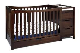 mini crib and changing table crib changing table combo icenakrub