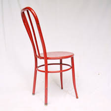 Red Metal Chair Best Vintage Retro Chair Products On Wanelo
