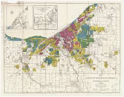 Map Of Metro Detroit by Redlining Maps Maps U0026 Geospatial Data Research Guides At Ohio