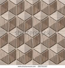 Wood Interior Wall Paneling Abstract Checkered Pattern Interior Wall Panel Stock Illustration