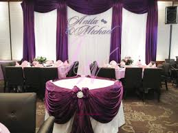 purple and white wedding joyce wedding services purple decoration for weddings