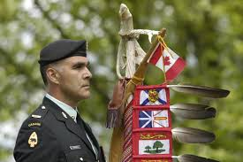 Flag Of Cameron National Defence Canadian Armed Forces Article Eagle Staff