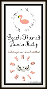 bunco party themed bunco party carrie s experimental kitchen