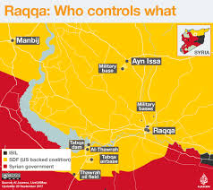 Syria Fighting Map by The Battle For Raqqa Who Controls What Isis Al Jazeera