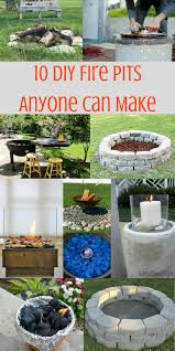 How To Make A Homemade Fire Pit Fire Pit Diy Ideas Anyone Can Make The Weathered Fox