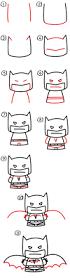 how to draw cartoon batman art for kids hub