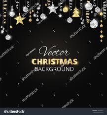 background sparkling glitter ornaments stock
