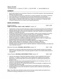 incredible ecommerce business analyst resume resume format web