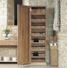 Shoe Cabinet Oak Tall Shoe Cupboard Mobel Home Storage Systems From Store