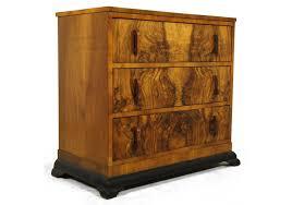 Art Deco Bedroom Furniture Deco Figured Walnut Chest Of Drawers