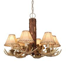 Shop Cascadia Lighting 4 Light - shop cascadia lighting lodge 22 in 6 light noachian stone rustic