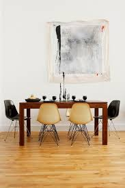 Eames Dining Chair Natural And Black Eames Dining Chairs U2013 The Fashion Medley