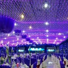 decoration lights for party china 3x3m pink light led net lights party decoration fancy light
