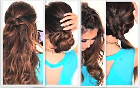 hairstyles youtube long hair simple hairstyle 6 easy lazy hairstyles cute everyday