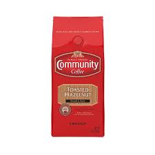 amazon com community coffee ground toasted hazelnut 12 oz 3