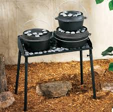 lodge dutch oven table cwc video c chef dutch oven table cabela s