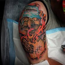 honey compton bear new tattoo by conor wearn best