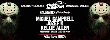 tribal sessions halloween closing party 29th october sankeys ibiza