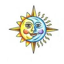moon and sun tattoo design tattoowoo com