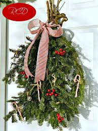 How To Decorate A Swag For Christmas Outdoor Christmas Decor Redhead Can Decorate