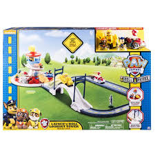 paw patrol launch roll lookout tower track walmart