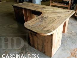reclaimed wood writing desk reclaimed barn wood desk 4wfilm org