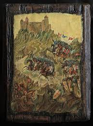 vintage siege the siege of montsegur fortress 1244 sergeev vintage