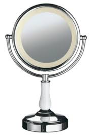 conair led lighted mirror conair led lighted mirror cbe70a showroom
