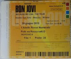 stadio san siro ingresso 8 destination san siro bon jovi tour 2013 magic nights to