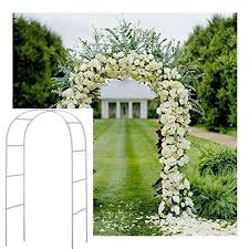 wedding arbor ebay adorox 7 5 ft white metal arch wedding garden bridal party