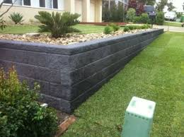 yard retaining wall ideas for designs blocks walls jblain com