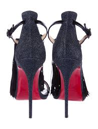 christian louboutin fringe casanovella 120 sandals w tags shoes