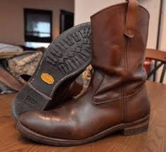 s boots in size 12 vintage wing pecos pull on boots size 12 b style 991