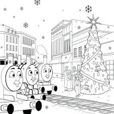 train coloring pages print thomas tank engine printable free