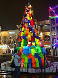 Christmas Tree Made Of Christmas Lights - downtown silver spring christmas tree made of toys that will be