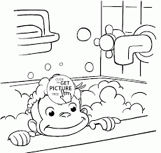 coloring download curious george coloring pages print curious