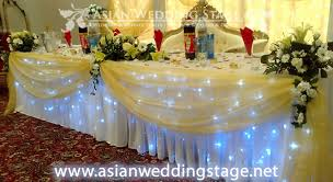 table decorations asian wedding stage table decorations wedding stage decoration ideas