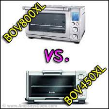Breville Toaster Oven 800xl Compare Breville Bov800xl And Breville Bov450xl Toaster Ovens