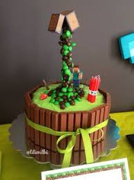 minecraft birthday cake ideas minecraft cake the kit and m m cake as seen on