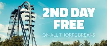 2nd day grown ups go free with thorpe breaks